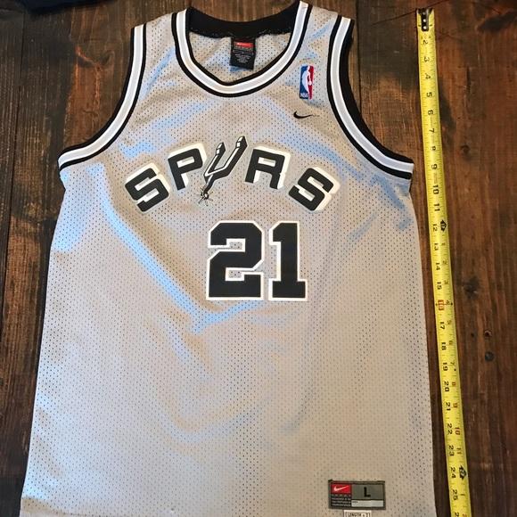 Nike San Antonio Spurs 21 Tim Duncan YL. M 5c0319d745c8b312716f3707. Other  Shirts ... a294d90ae
